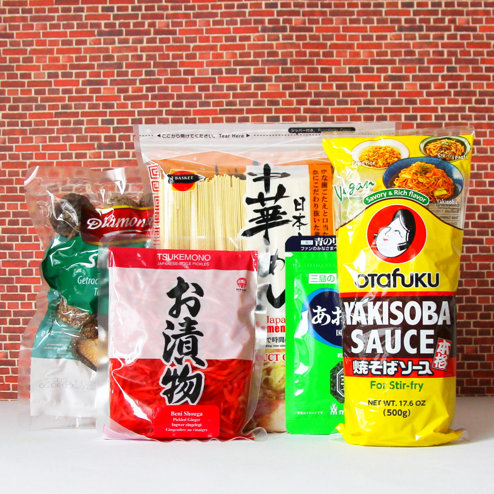 Kochset für Yakisoba.