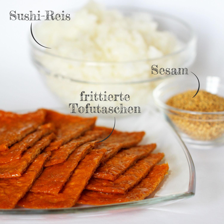 Inari Sushi Zutaten
