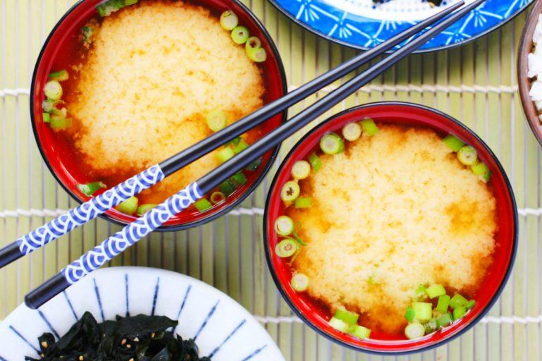 Miso-Suppe mit 3 Zutaten Titelbild