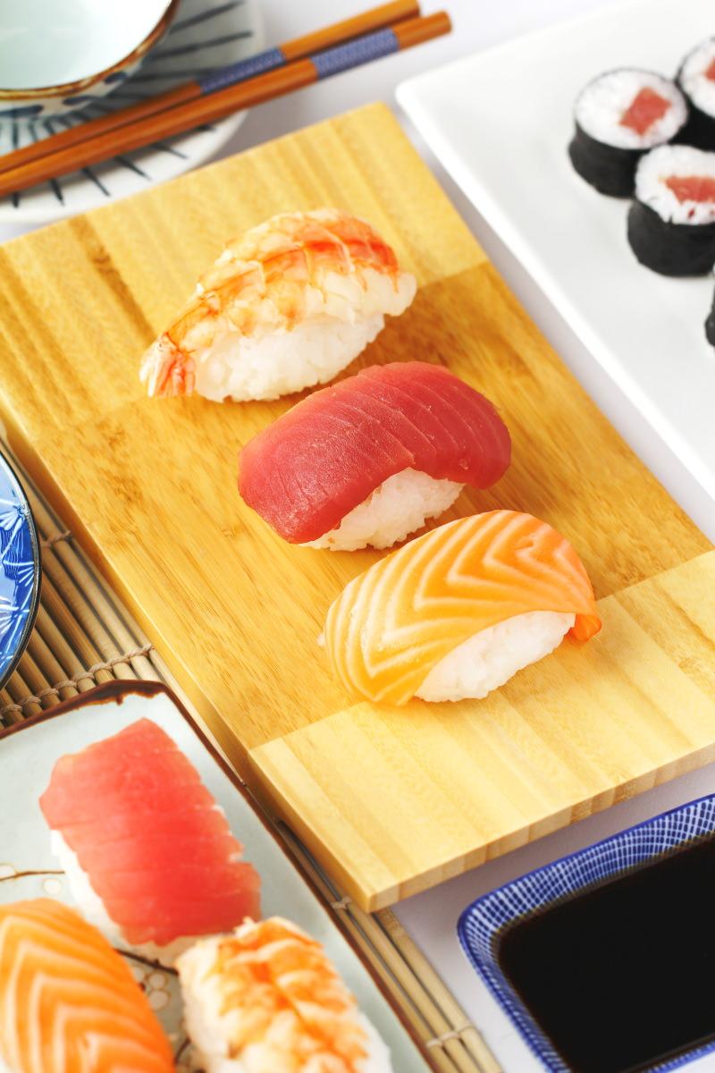 Nigiri als Sushi Menü