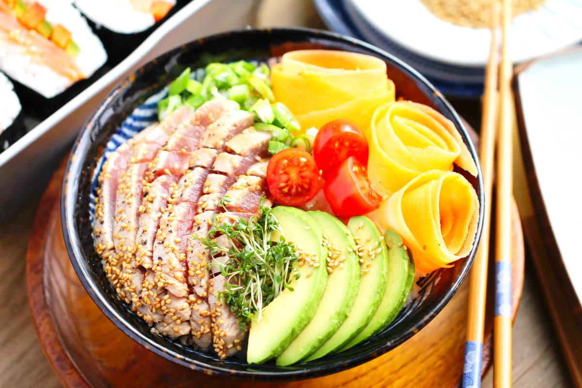 Sushi Bowl Titelbild