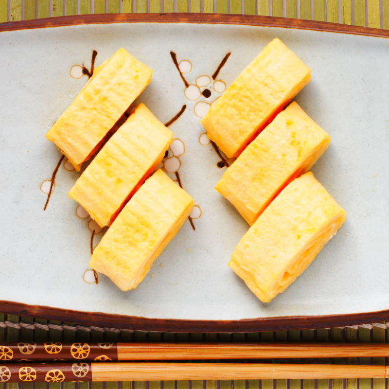 Tamagoyaki Schritt 8 fertig