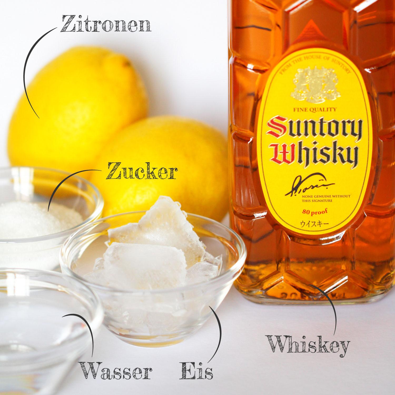 Whiskey Sour Zutaten