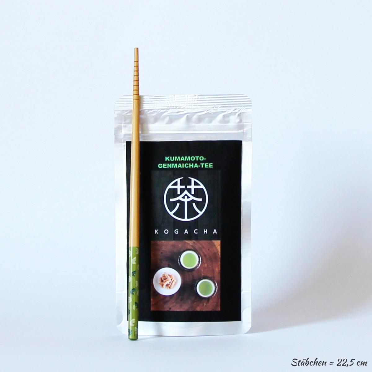 Genmaicha 50g (japanischer Bio-Grüntee mit Reis aus Kumamoto), KOGACHA