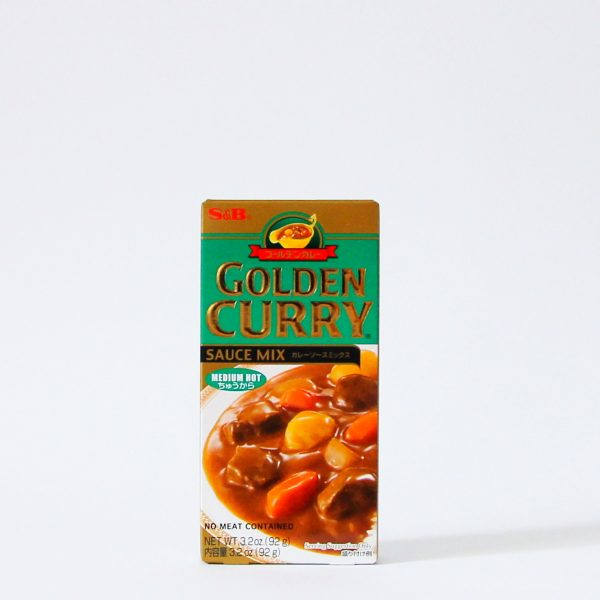 Golden Curry 92g (japanische Currywürfel), S&B