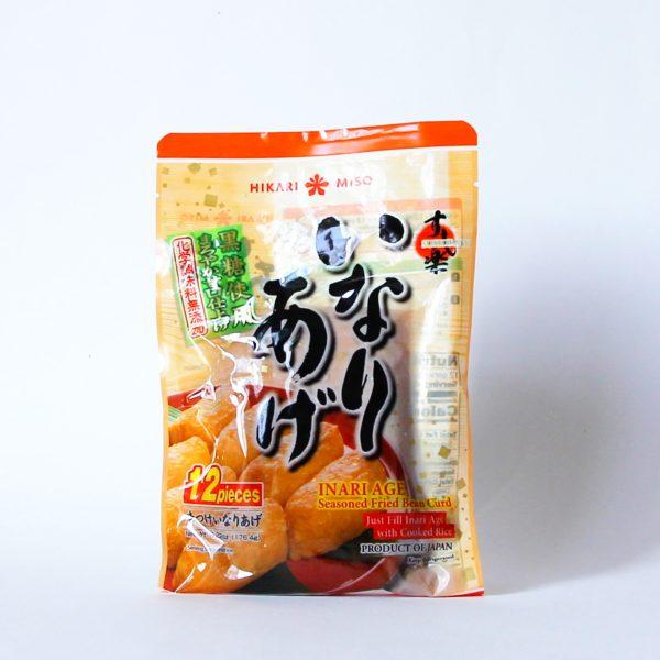 Inari Zushi No Moto 176g (12 Stück frittierter Tofu für Sushi), HIKARI