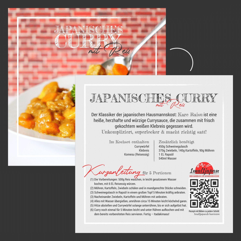 Japanisches Curry Kochset