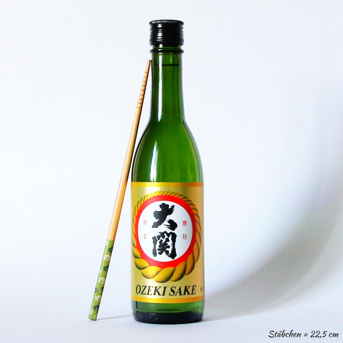 Junmai Sake Nihonshu 375ml (Reiswein), OZEKI