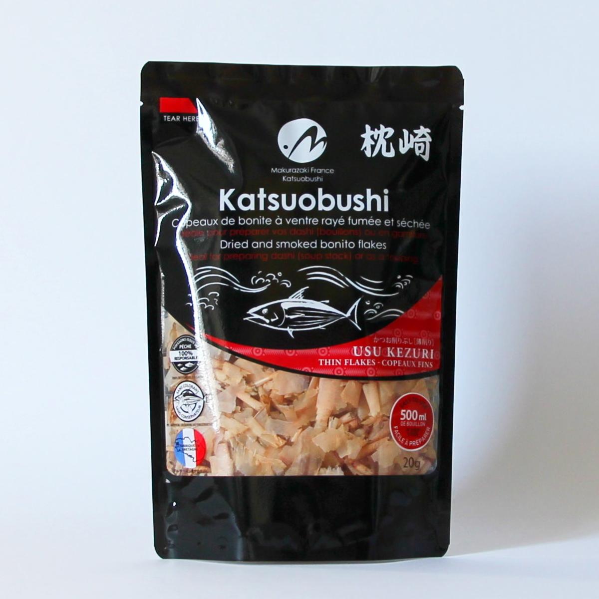 Katsuobushi 20g (Bonitoflocken), MAKURAZAKI