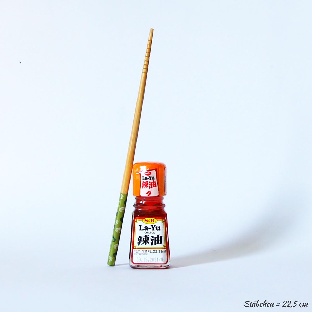 La-Yu Chiliöl 33ml (Sesamöl mit Chili), S&B