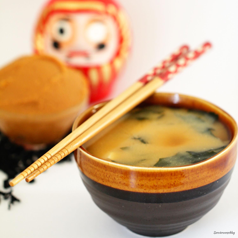 Miso-Suppe Kochset