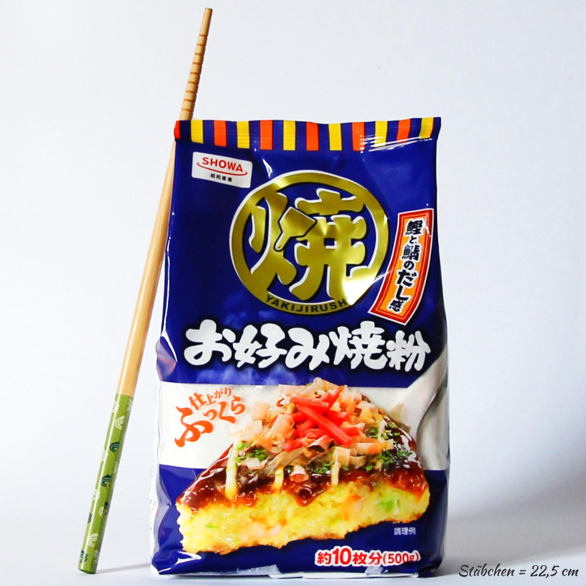 Okonomiyakiko 500g (Okonomiyakiteig-Mehlmischung), SHOWA