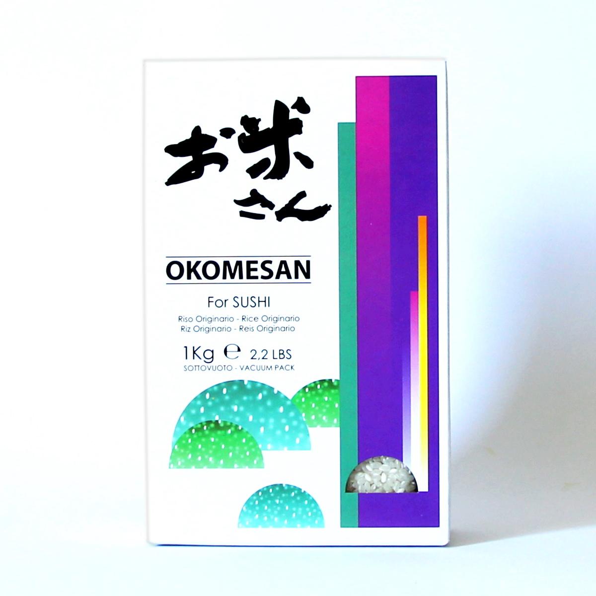 Reis 1kg (Rundkornreis), OKOMESAN