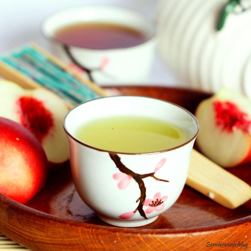 Serviervorschlag Grüner Tee
