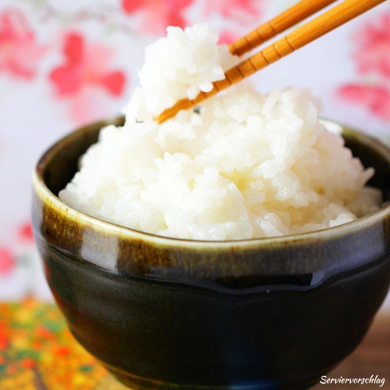 Serviervorschlag Reis kochen