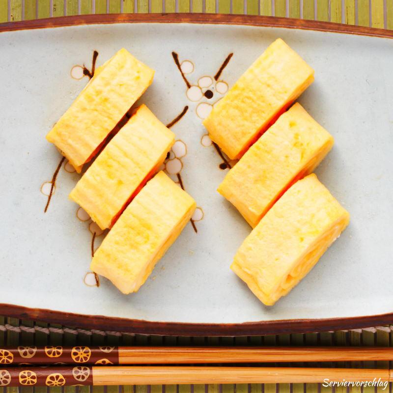 Serviervorschlag Tamagoyaki