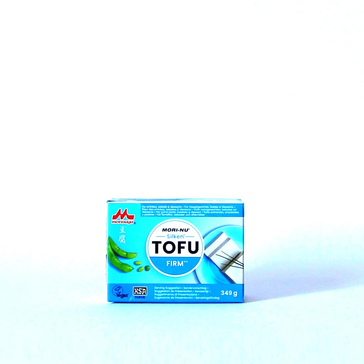 Silken Tofu Firm 349g (Seidentofu), MORI-NU