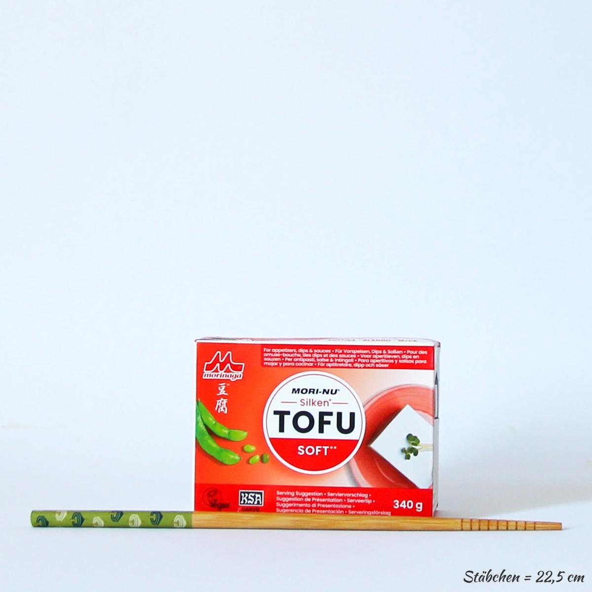 Silken Tofu Soft 340g (Seidentofu), MORI-NU