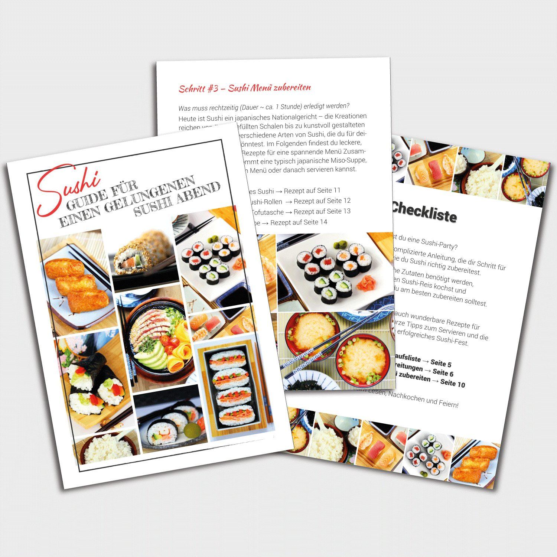 Sushi Menü Kochset