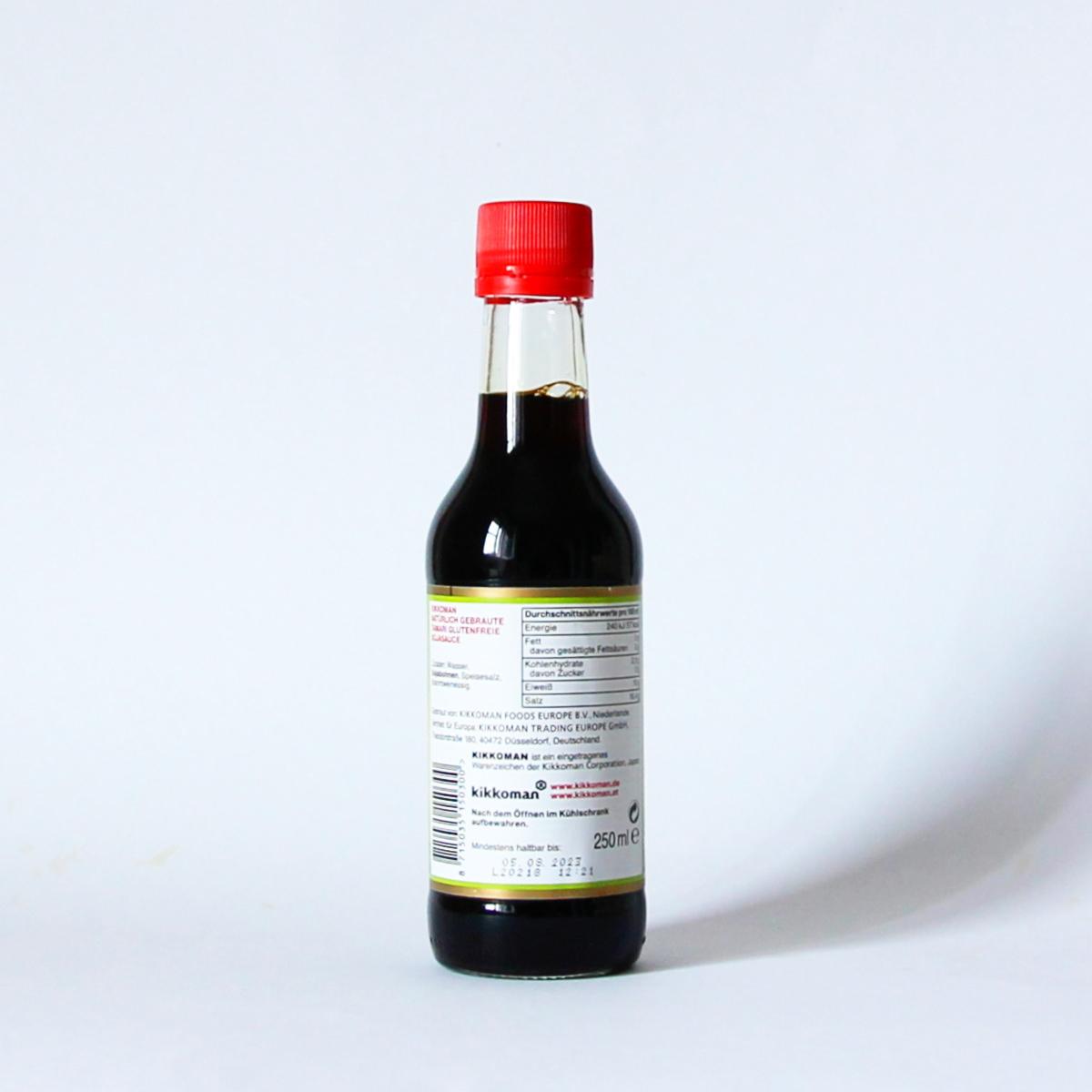 Tamari 250ml (glutenfreie Sojasauce), KIKKOMAN
