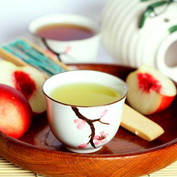 Tee-Set (mit 5 japanischen Teesorten)