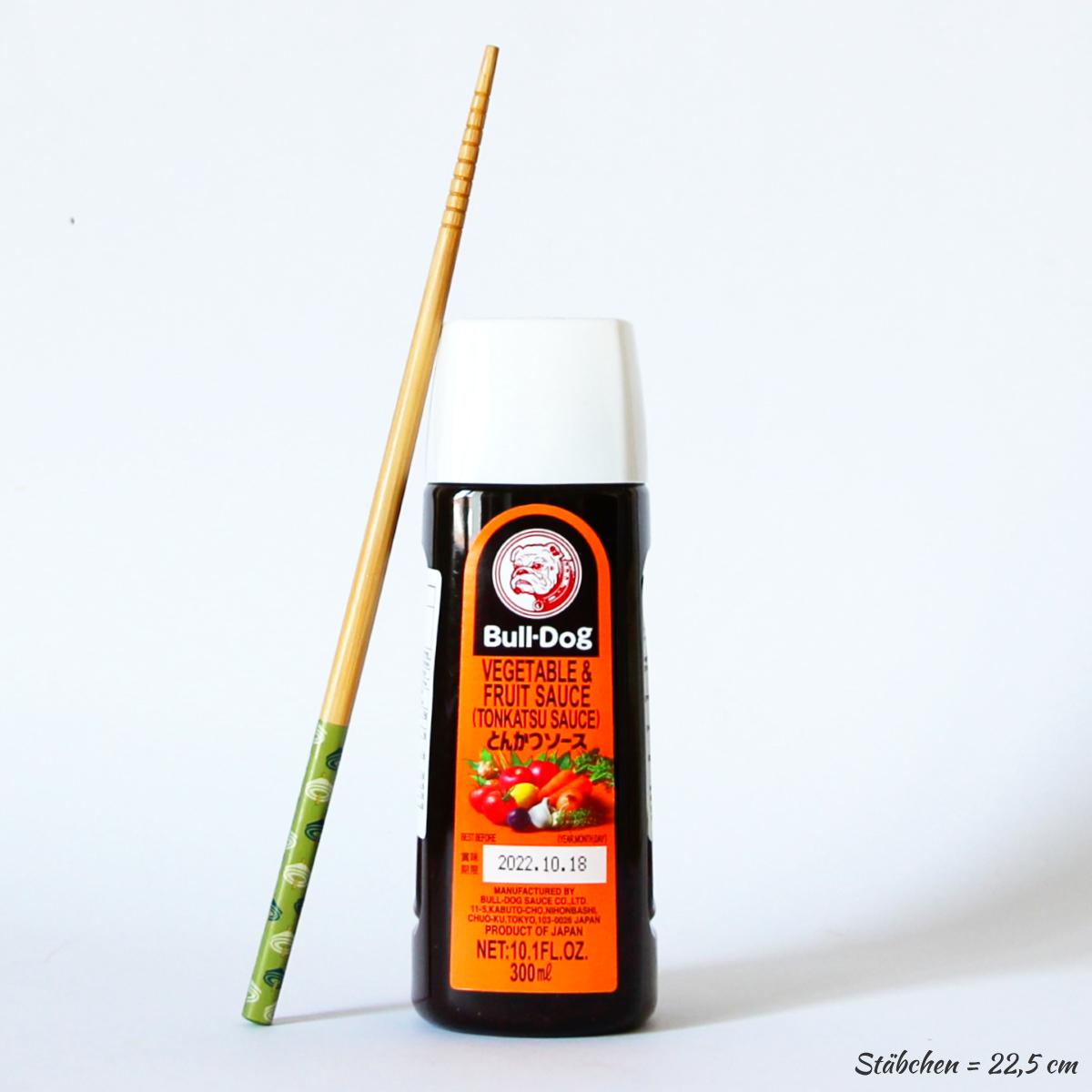 Tonkatsu Sauce 300ml (japanische Würzsauce), BULL-DOG