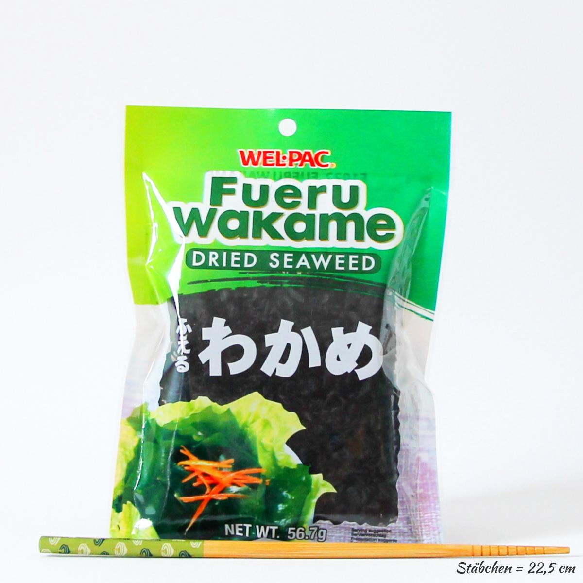 Wakame 56,7g (geschnittene Meeresalgen), WEL-PAC