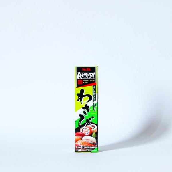 Wasabi 43g (Meerrettichpaste), S&B