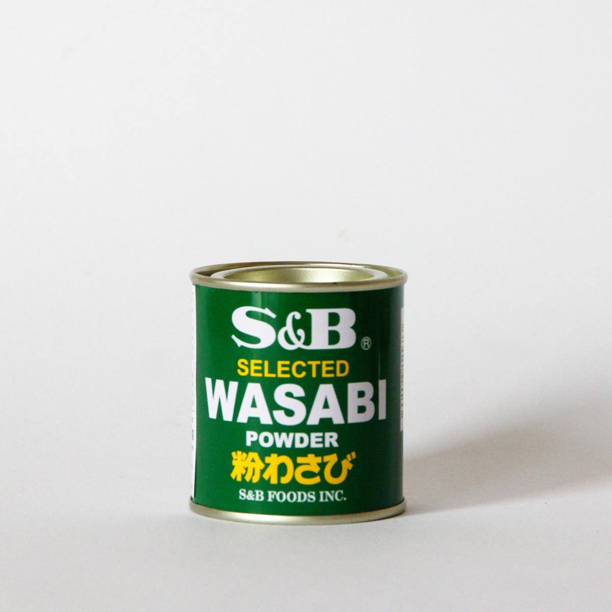Wasabi Pulver 30g (für selbstgemachtes Wasabi), S&B