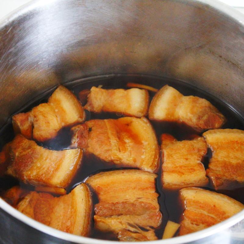 Kakuni Schritt 10 Schweinebauch garen