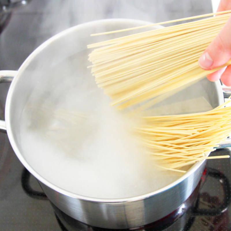 Vegetarische Ramen Schritt 7 Nudeln kochen