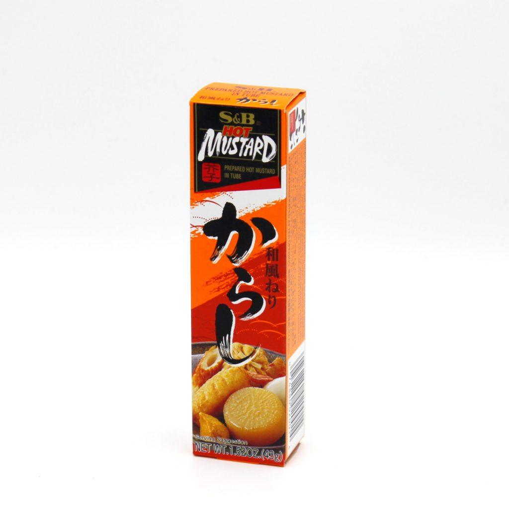 Karashi Senf 36ml (japanischer Senf, Hot Mustard), S&B
